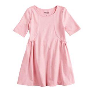 Girls 4-10 Jumping Beans® Glitter Princess Seam Dress