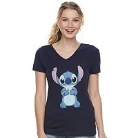 Disney's Lilo & Stitch Juniors' V-Neck Tee