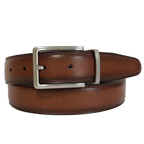 Men's Apt. 9® Reversible Double-Stitched Feather-Edge Belt