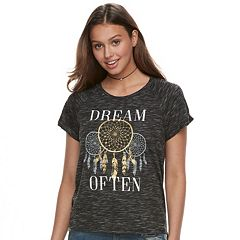 Juniors' 'Dream Often' Graphic Tee