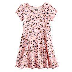Girls 4-10 Jumping Beans®Printed Dress