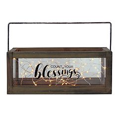 Manor Lane 'Count Your Blessings' Table Decor