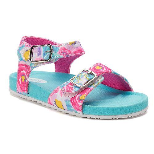 Dr. Scholl's Isla Toddler Girls' Floral Sandals