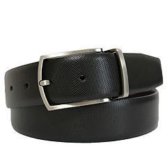 Men's Apt. 9® Reversible Embossed Feather-Edge Belt