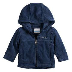 Baby Boy Columbia Flattop Ridge Hooded Zip Midweight Jacket