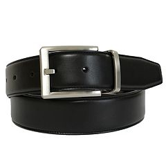 Men's Apt. 9® Reversible Stretch Feather-Edge Belt