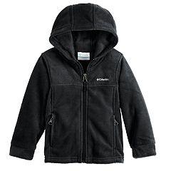 Toddler Boy Columbia Fleece Hooded Zip Midweight Jacket