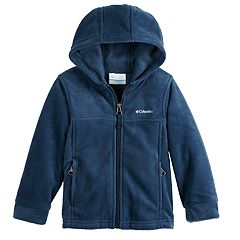 Toddler Boy Columbia Fleece Hooded Zip Midweight Jacket