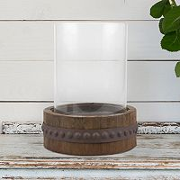 Manor Lane Rustic Industrial Pillar Table Decor