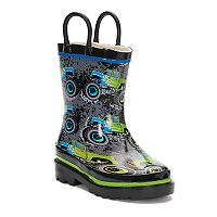 Western Chief Crusher Boys' Waterproof Rain Boots