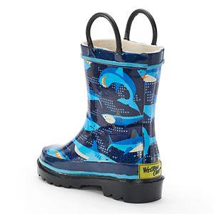 Western Chief Pixel Shark Camo Girls' Waterproof Rain Boots