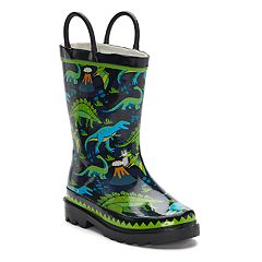 Western Chief Dino Motion Boys' Waterproof Rain Boots