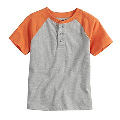 Toddler Boy Jumping Beans® Raglan Henley Top