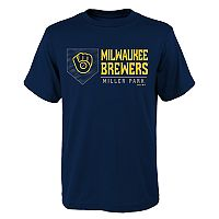 Boys 4-18 Milwaukee Brewers Achievement Tee