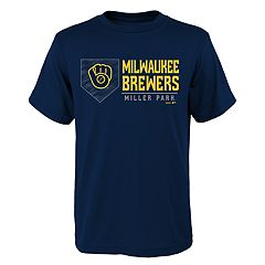 Boys 4-18 Milwaukee Brewers Achievement Tee