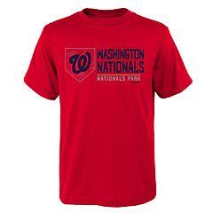 Boys 4-18 Washington Nationals Achievement Tee