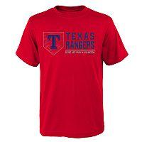 Boys 4-18 Texas Rangers Achievement Tee