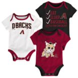 Baby Arizona Diamondbacks 3-pk. Bodysuits