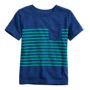 Toddler Boy Jumping Beans® Striped Pocket Tee