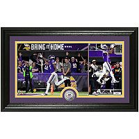 Highland Mint Minnesota Vikings 2017 Division Playoff Champion Stefon Diggs Coin Photo Mint