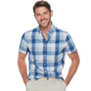 Men's SONOMA Goods for Life? Slim-Fit Poplin Button-Down Shirt