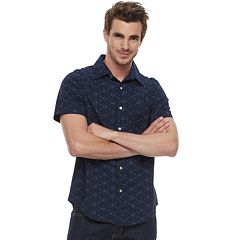 Men's SONOMA Goods for Life™ Slim-Fit Poplin Button-Down Shirt