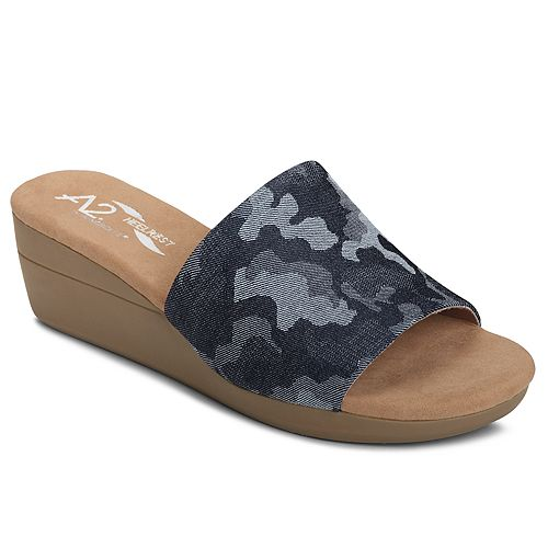 A2 by Aerosoles Sunflower Women's Wedge Sandals