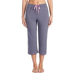 Women's Cuddl Duds Heart Capri Pajama Pants