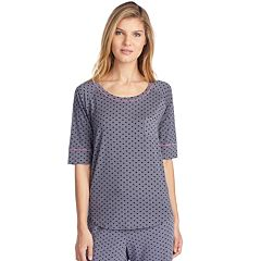 Women's Cuddl Duds Heart Sleep Tee