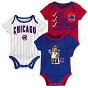 Baby Chicago Cubs 3 pkBodysuits
