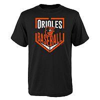 Boys 4-18 Baltimore Orioles Run Scored Tee