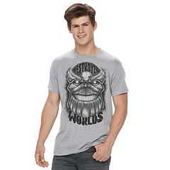 Men's Marvel Comics Thanos Destroyer of Worlds Tee