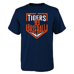 Boys 4-18 Detroit Tigers Run Scored Tee