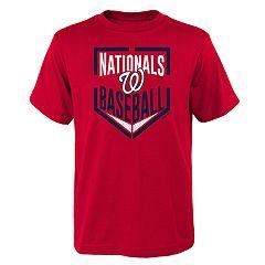 Boys 4-18 Washington Nationals Run Scored Tee