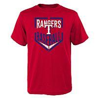 Boys 4-18 Texas Rangers Run Scored Tee