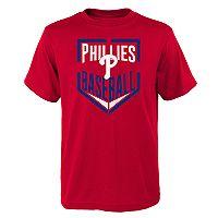 Boys 4-18 Philadelphia Phillies Run Scored Tee