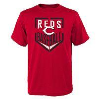 Boys 4-18 Cincinnati Reds Run Scored Tee