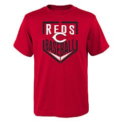 Boys 4-18 Cincinnati Reds Run Scored Tee