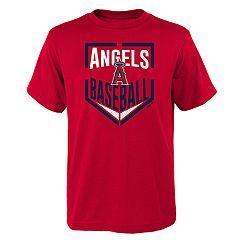 Boys 4-18 Los Angeles Angels of Anaheim Run Scored Tee