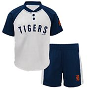 Toddler Detroit Tigers Tee & Shorts Set