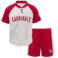 Toddler St. Louis Cardinals Tee & Shorts Set