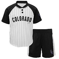 Toddler Colorado Rockies Tee & Shorts Set