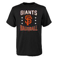 Boys 4-18 San Francisco Giants Triple Play Tee