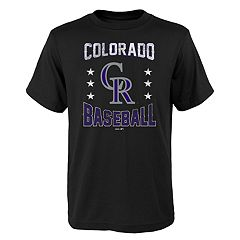 Boys 4-18 Colorado Rockies Triple Play Tee