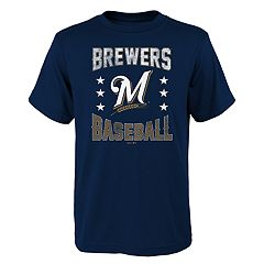 Boys 4-18 Milwaukee Brewers Triple Play Tee