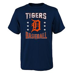 Boys 4-18 Detroit Tigers Triple Play Tee