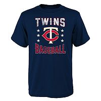 Boys 4-18 Minnesota Twins Triple Play Tee