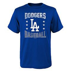 Boys 4-18 Los Angeles Dodgers Triple Play Tee