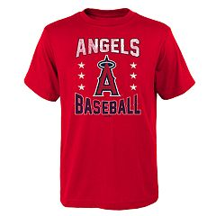 Boys 4-18 Los Angeles Angels of Anaheim Triple Play Tee