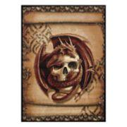 United Weavers Legends Snake Eyes Printed Rug - 5'3'' x 7'2''